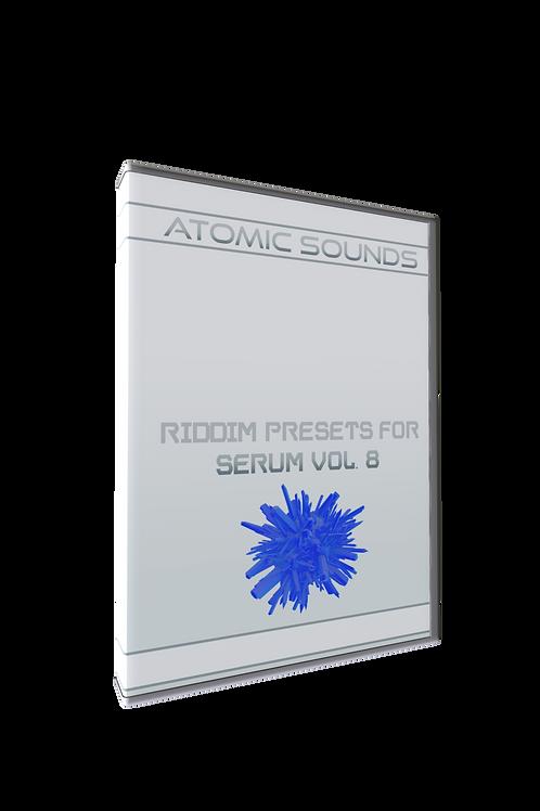 Atomic Sounds - Riddim Presets For Serum Vol. 8