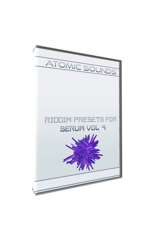 Atomic Sounds - Riddim Presets For Serum Vol. 4