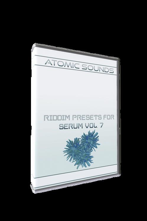 Atomic Sounds - Riddim Presets For Serum Vol. 7