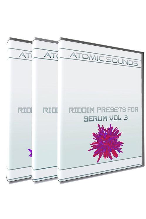 Atomic Sounds - Riddim Presets For Serum Bundle Vol. 1