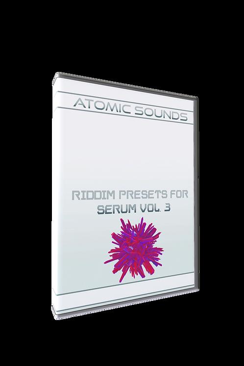 Atomic Sounds - Riddim Presets For Serum Vol. 3