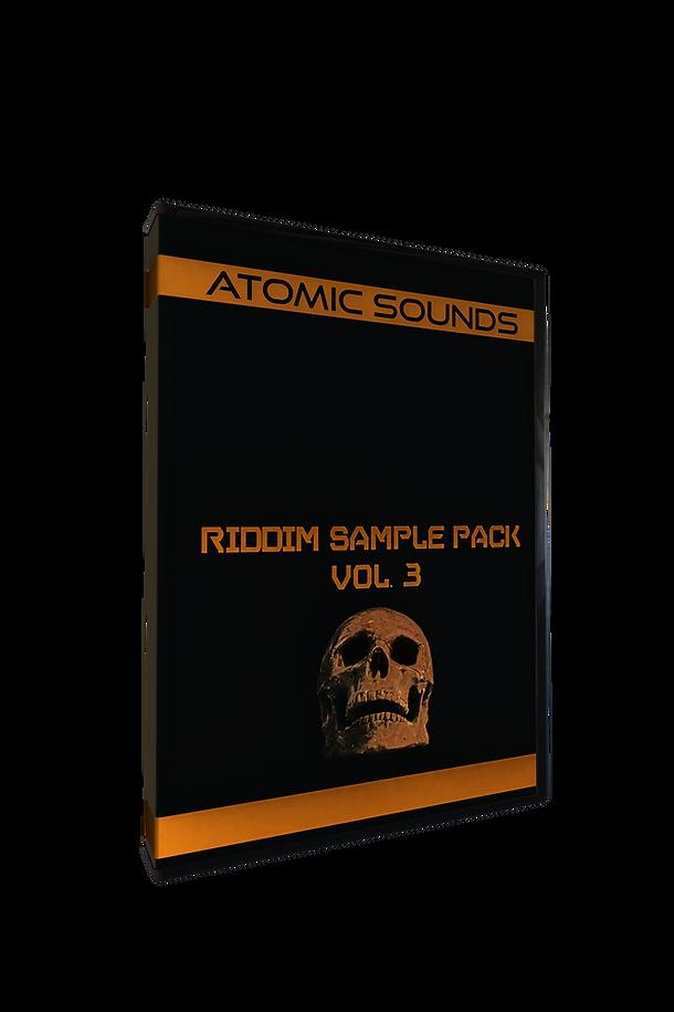 Atomic Sounds Riddim Sample Pack Vol. 3.