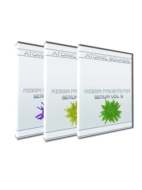 Atomic Sounds - Riddim Presets For Serum Bundle Vol. 2