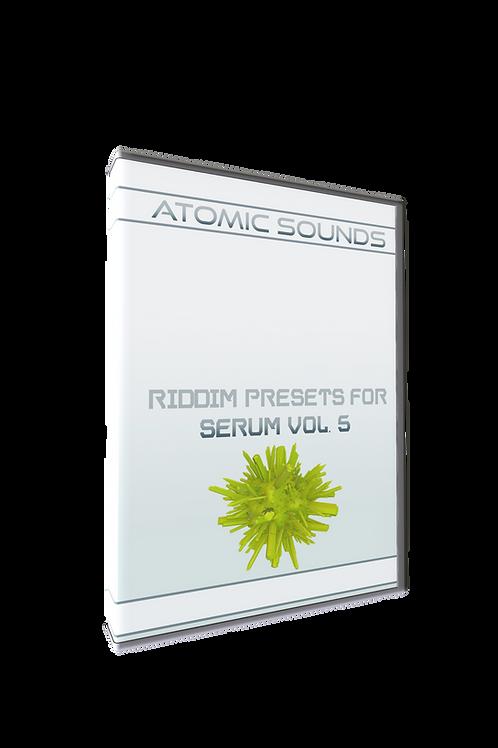 Atomic Sounds - Riddim Presets For Serum Vol. 5