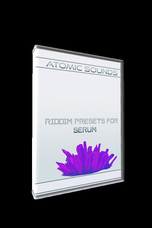 Atomic Sounds - Riddim Presets For Serum Vol. 1
