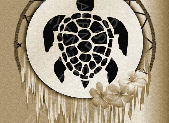 WALL ART DECOR, 8 x 10  Printable Download, Turtle Animal Spirit