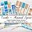 Thumbnail: Digital Printable Planner Stickers-Spirit Animal-Turtle Collection