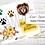 Thumbnail: Digital Printable Clip Art - Lion Collection - Instant Download