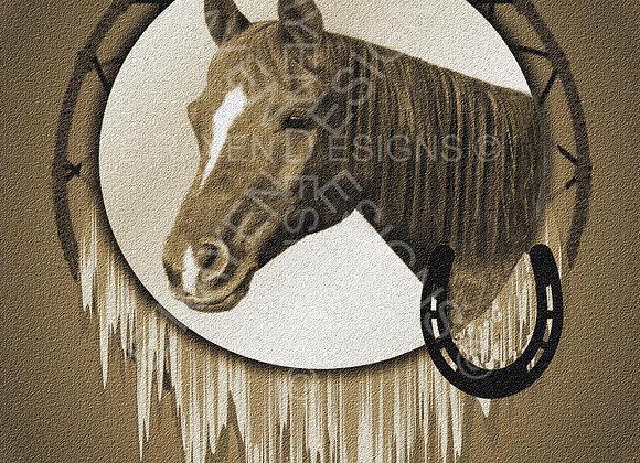 WALL ART DECOR, 8 x 10  Printable Download, Horse Animal Spirit