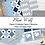 Thumbnail: Digital Printable Papers -Blue Wolf Collection - Instant Download