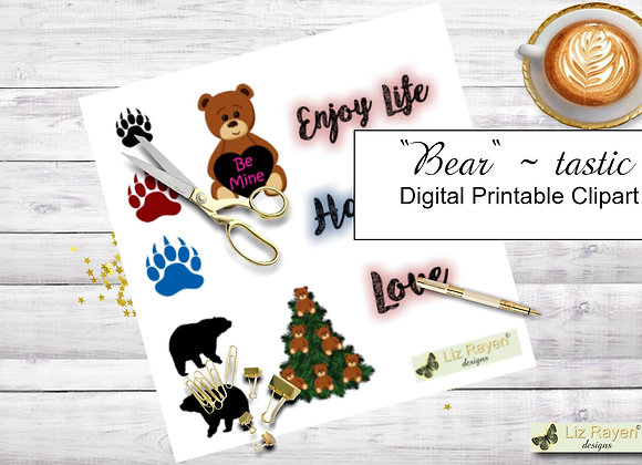 Digital-printable-clip-art-bear-tastic-collection-instant-download