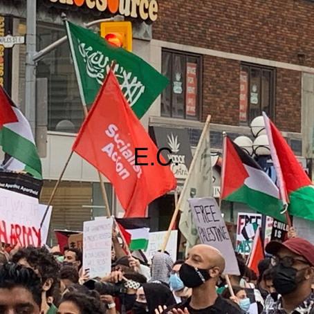 Press Release: Hamas Flag & Hate Speech on Toronto Streets