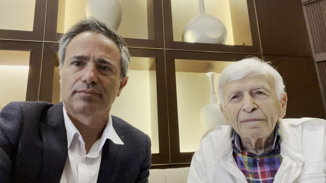 Celebrating Holocaust Survivor Day with Max Eisen: A Frank Conversation about Antisemitism