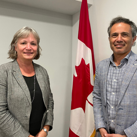 AGPI Founder & Chairman & Canada's Ambassador to Israel Discuss New Global Initiative