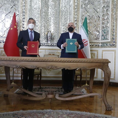 Alert: A Dangerous Alignment Between China and Iran