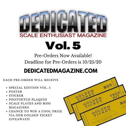 Dedicated Magazine Vol. 5 Limited Edition