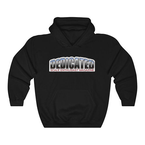 Dedicated Hooded Sweatshirt: New Logo, 12 Color Options