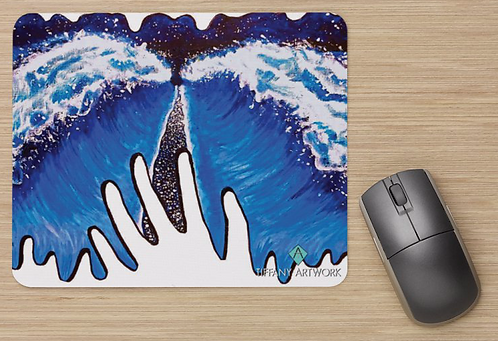 Spread Positive Waves Mousepad
