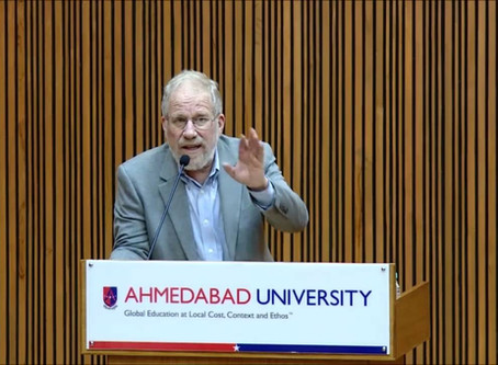 Sarah Poff interviews Philip Oldenburg, Adjunct Associate Professor, Political Science