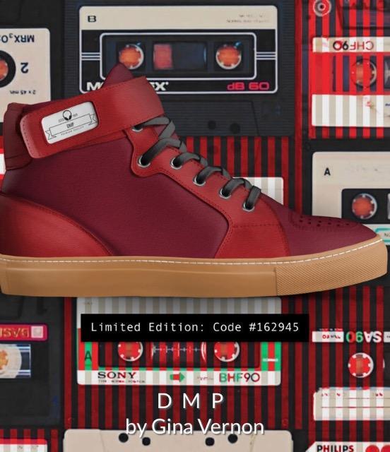 DMP Red Hi Top