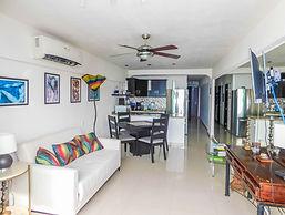 Condo 304 Boana Torre Malibu Living room