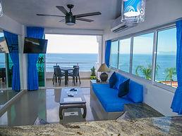 condo 605 living room ocean view Puerto