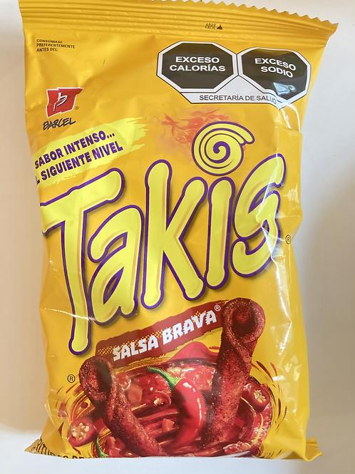 Takis salsa brava