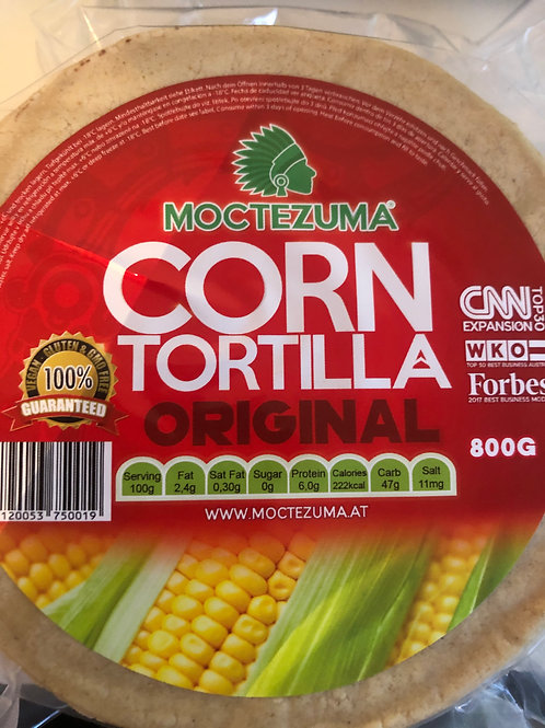 Tortillas Moctezuma