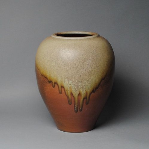 Clay Vase Wood Fire J 53