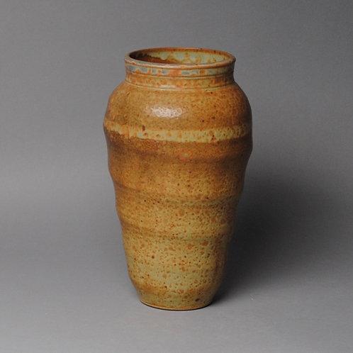 Vase Stoneware Orange J 51