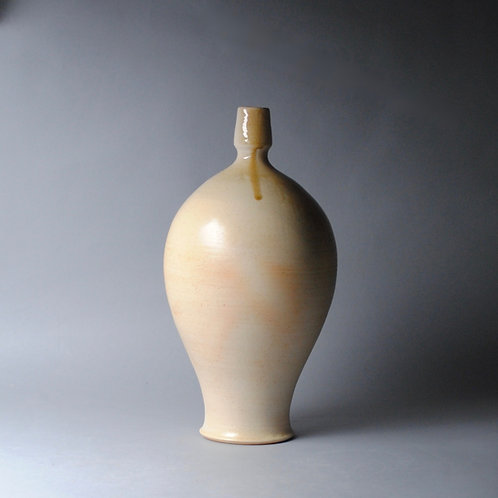 Handmade Clay Bottle Wood Fired I 81