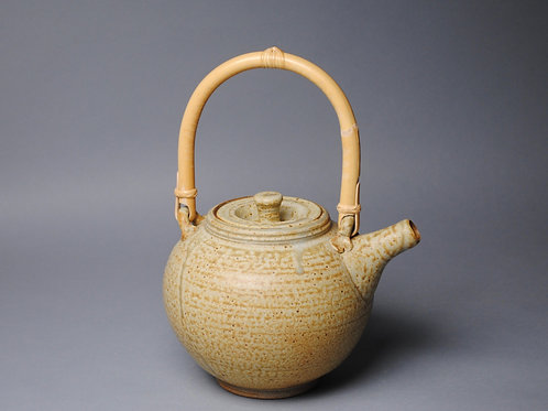Teapot with Cane Handle