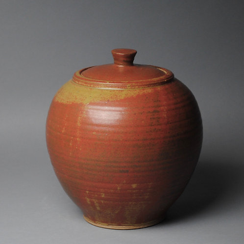 Covered Jar Urn