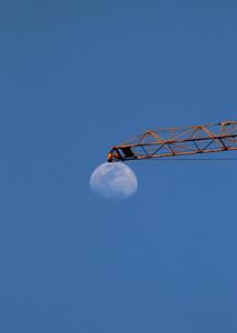 A Lua e a grua (Arthur da Silva)