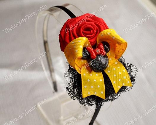 Red, Yellow & Black Classic Minnie Headband