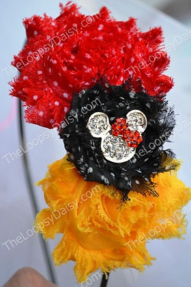 Traditional Sparkle Mouse Headband