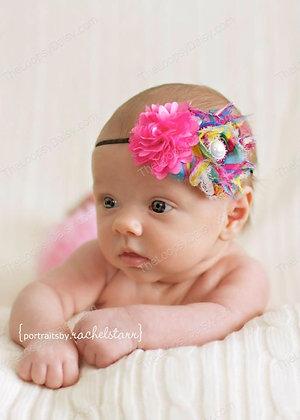 Beautiful & Bright Confetti Creations Headband