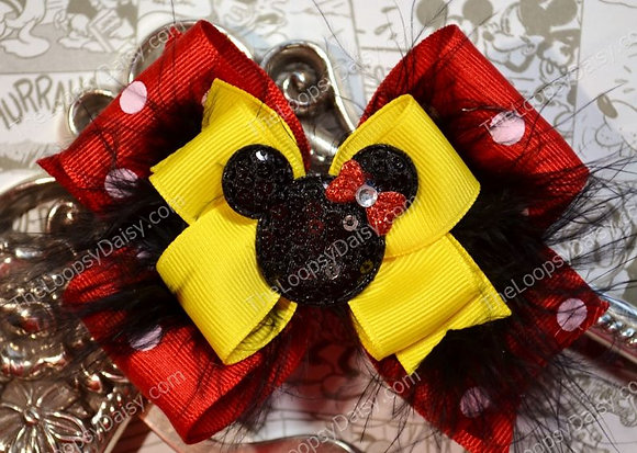 Magical Minnie Mouse Hair Bow