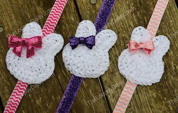 Sweet Easter Bunny Holiday Headband