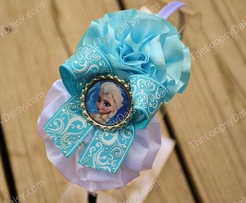 Fabulous Queen Elsa Frozen-inspired Headband