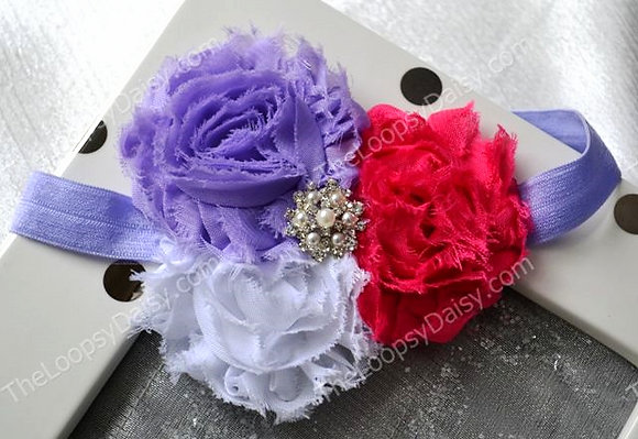 Girly Girl Shabby Chic Headband