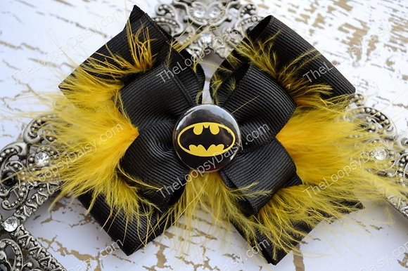 Batman-inspired Superhero Bow