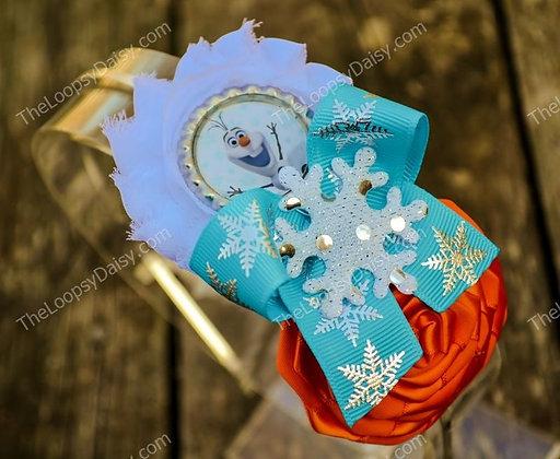 Fantastic Frozen-inspired Olaf Headband