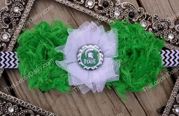 Marvelous Michigan State Headband
