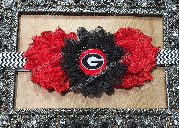 "University of Georgia ""Bulldogs"" Headband"