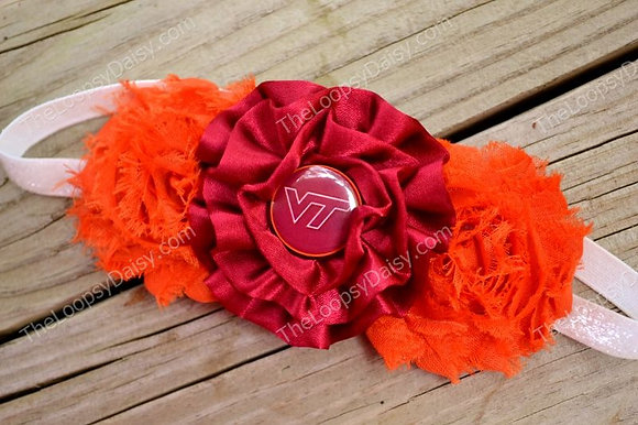 Virginia Tech Headband