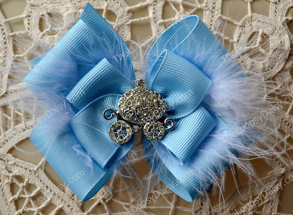Cinderella-inspired Bow
