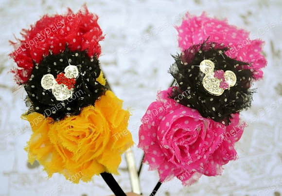 Special Sparkle Mouse Headband Set of Two
