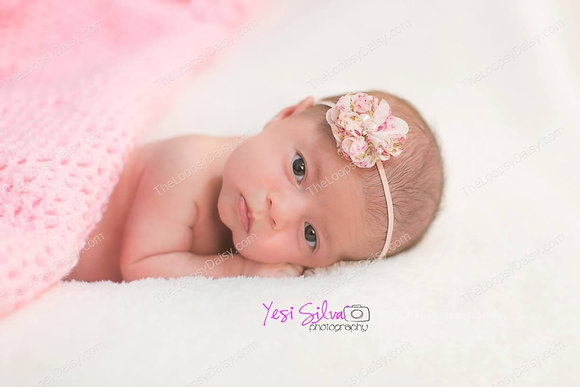 Simply Sweet Headband in Pink Floral