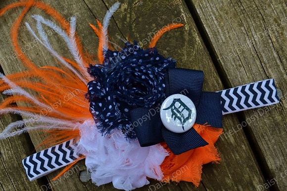 Delicate Detroit Tigers-inspired Ultimate Headband